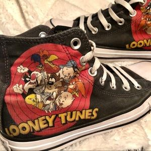 Looney Tunes x Converse High Top Chuck Taylors